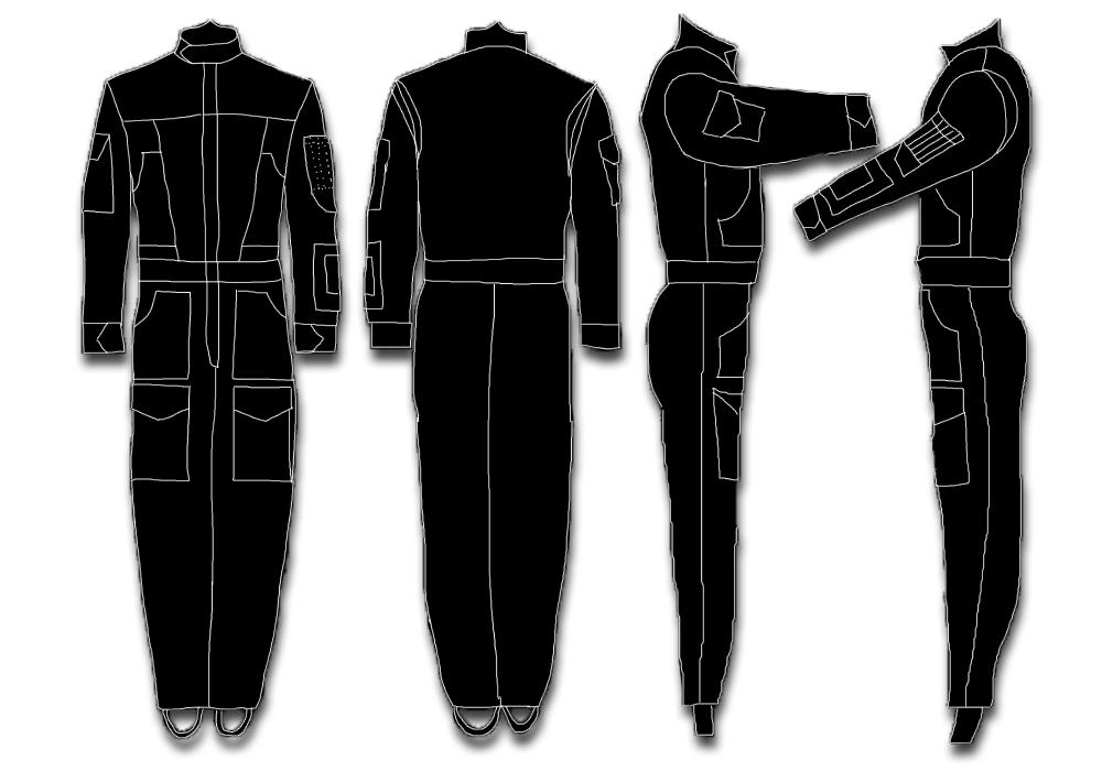 TIE Pilot Flight-suit