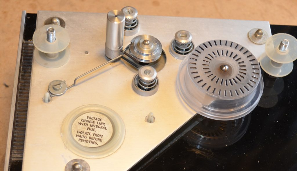 Mitchel Turntable Showing Pulley Wheel used as Imperial Greeblie